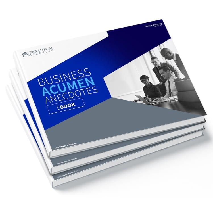 Business Acumen Ancedotes