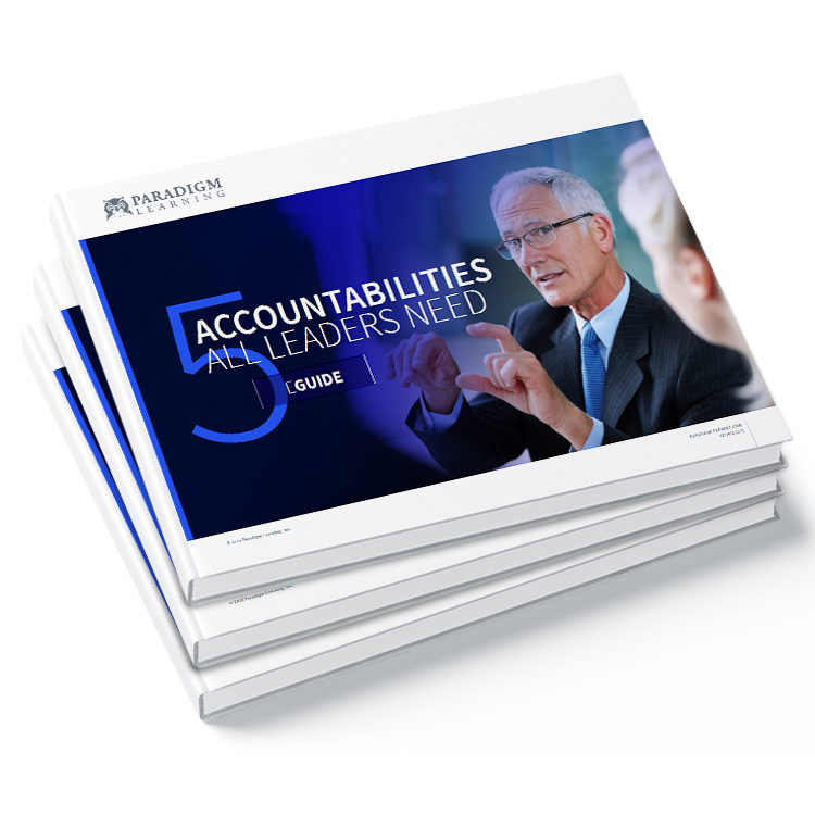 5 Accountabilities all Leaders Need
